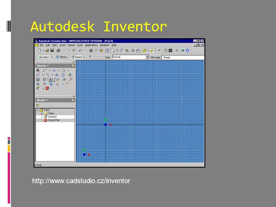 Autodesk Inventor http://www.cadstudio.cz/inventor