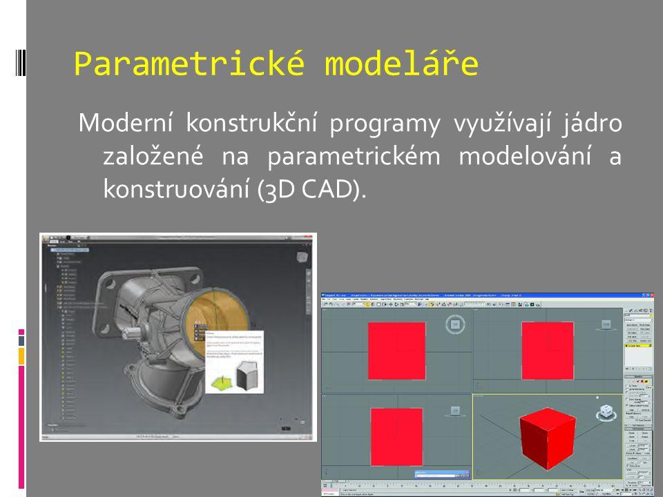 Parametrické modeláře