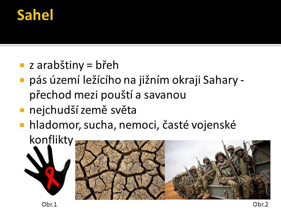 Sahel z arabštiny = břeh