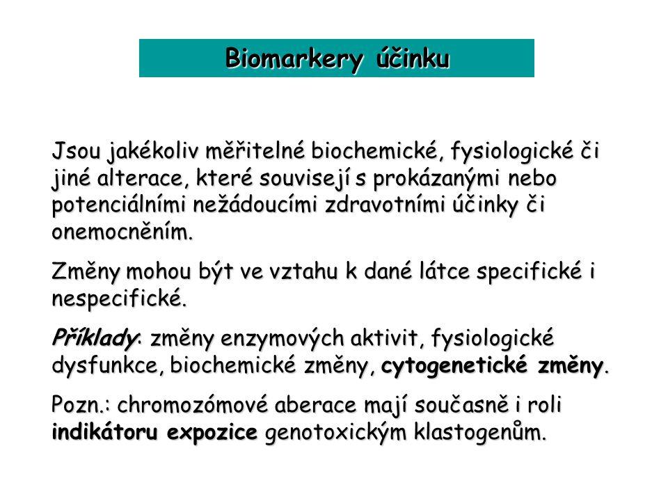 Biomarkery účinku