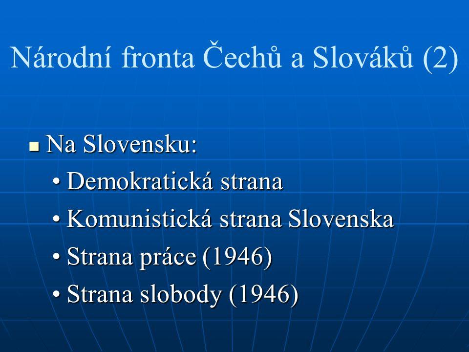 Národní fronta Čechů a Slováků (2)