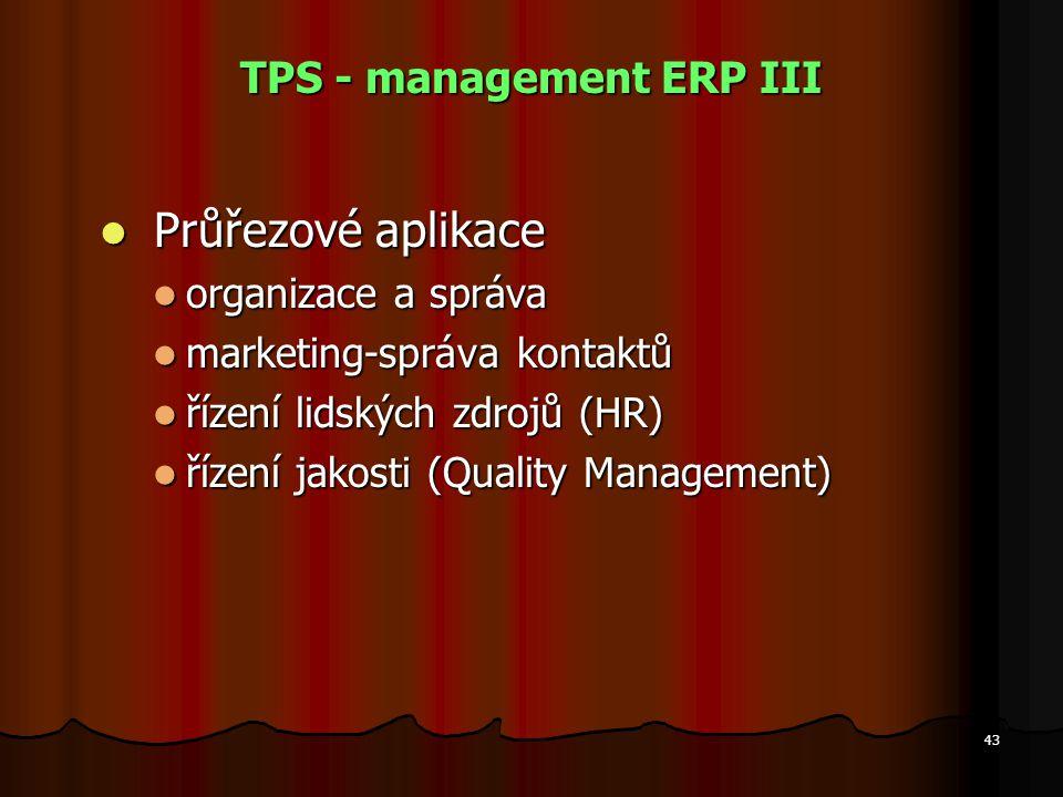 TPS - management ERP III