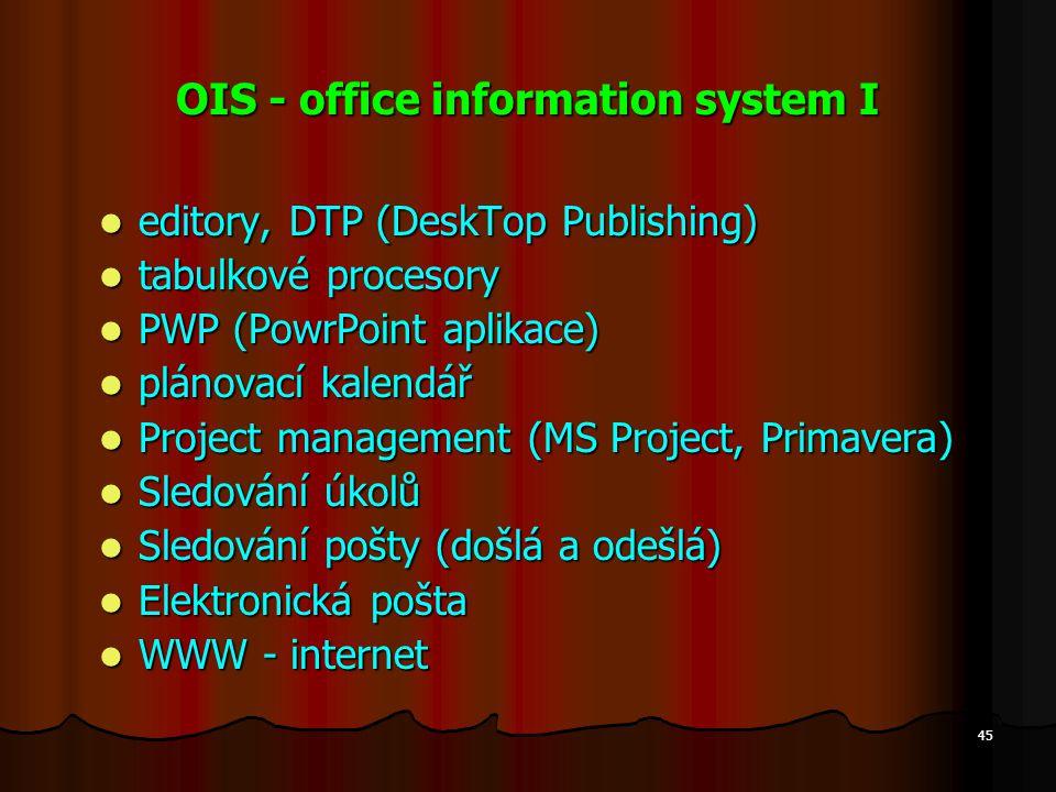 OIS - office information system I