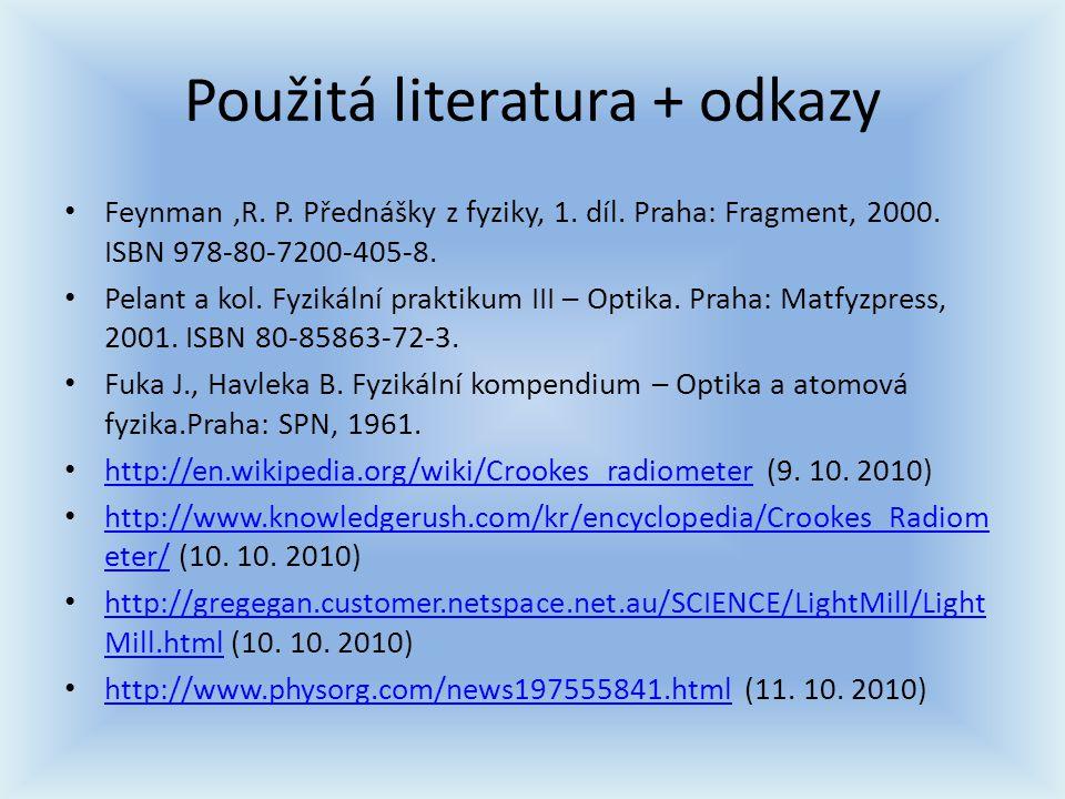 Použitá literatura + odkazy
