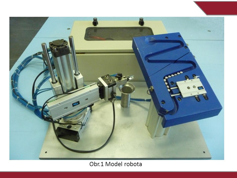 Obr.1 Model robota