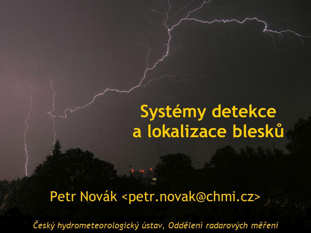 Systémy detekce a lokalizace blesků
