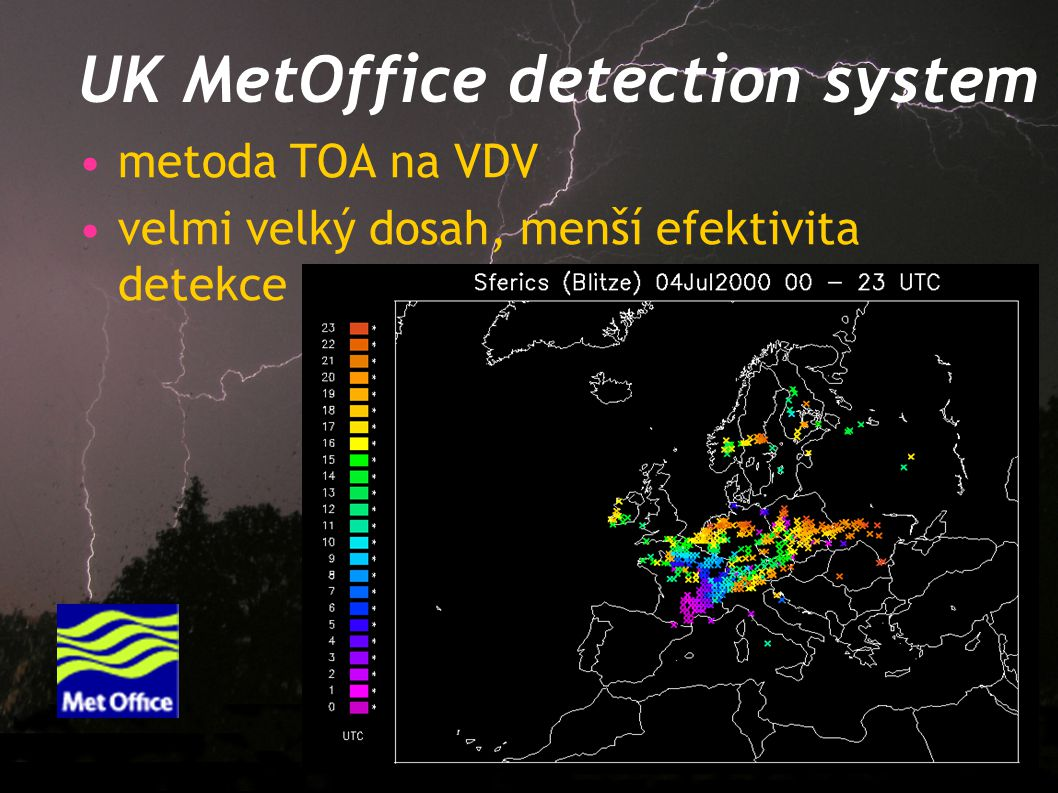 UK MetOffice detection system