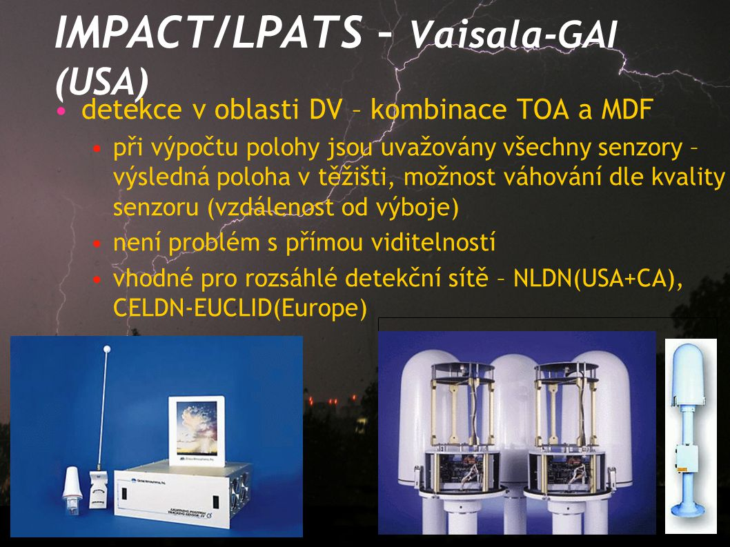IMPACT/LPATS – Vaisala-GAI (USA)