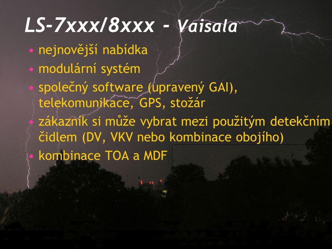 LS-7xxx/8xxx - Vaisala nejnovější nabídka modulární systém