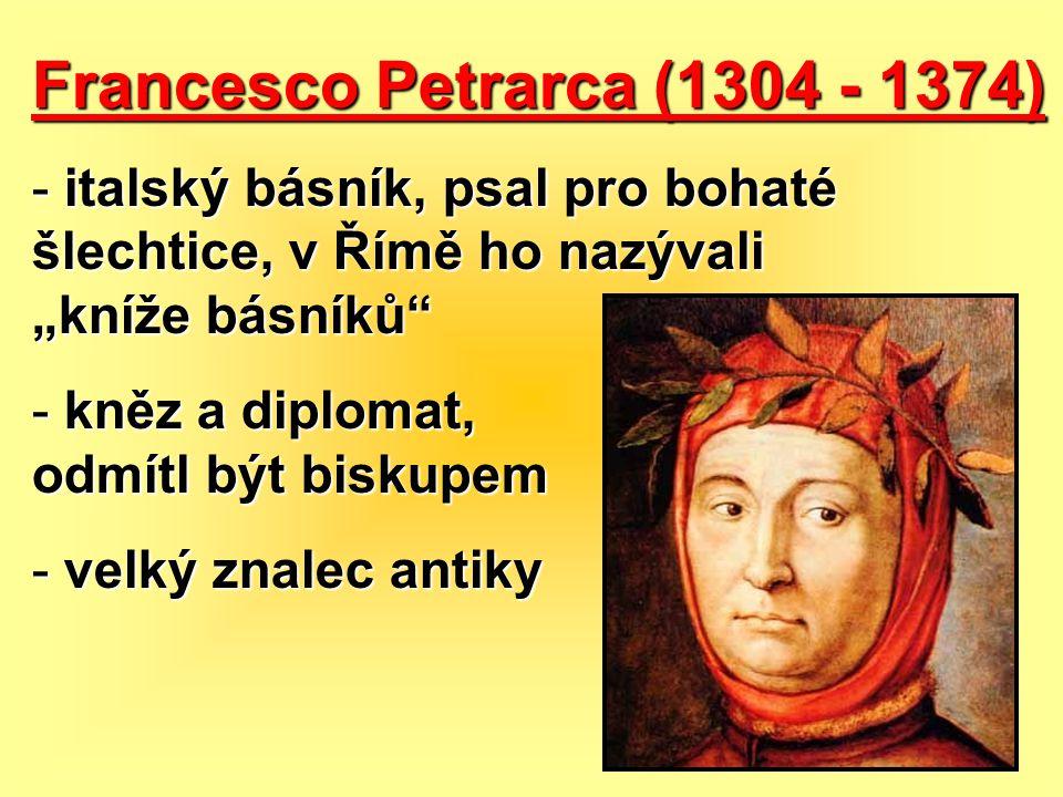 Francesco Petrarca (1304 - 1374)
