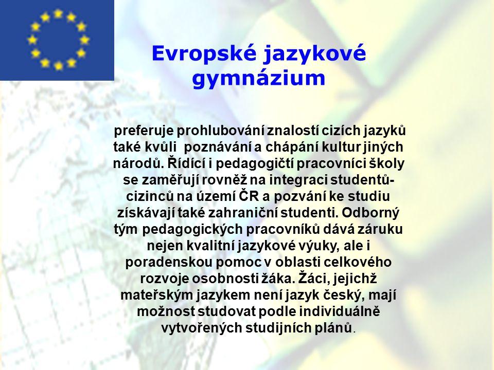 Evropské jazykové gymnázium