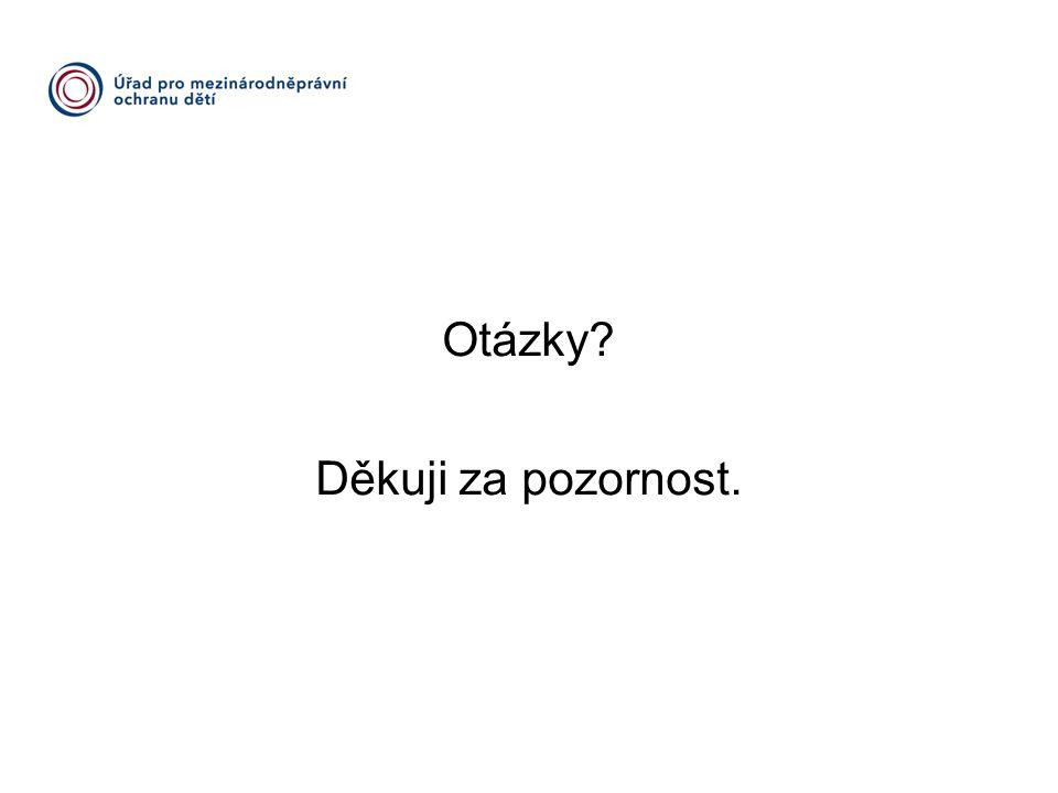 Otázky Děkuji za pozornost. www.umpod.cz