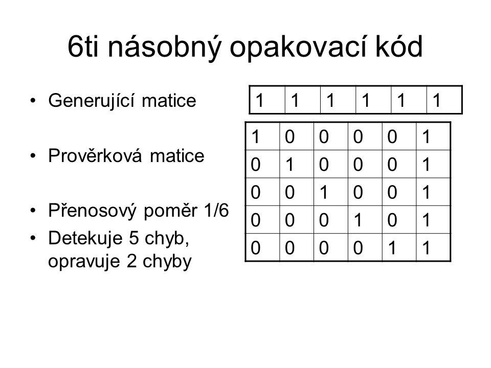 6ti násobný opakovací kód