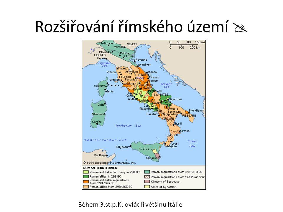 Rozšiřování římského území 