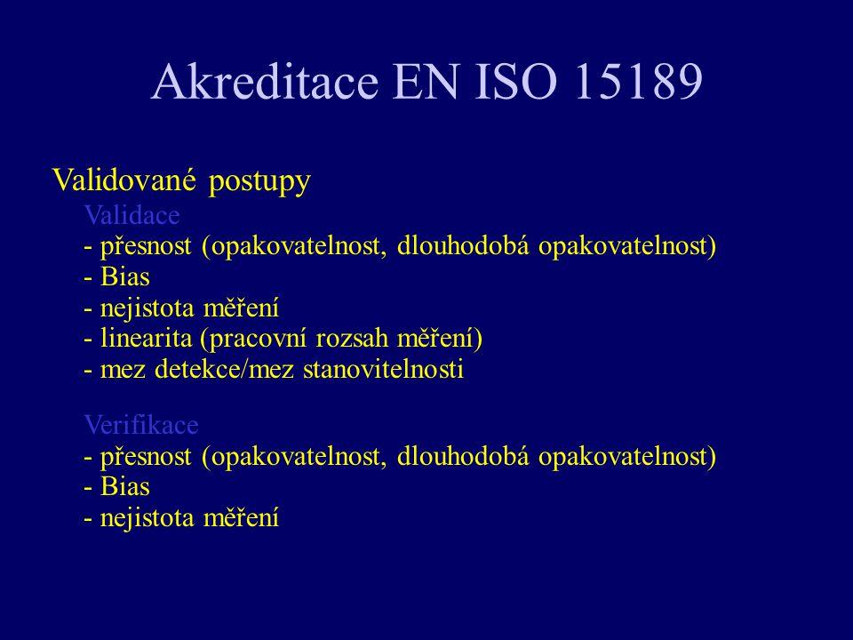 Akreditace EN ISO 15189