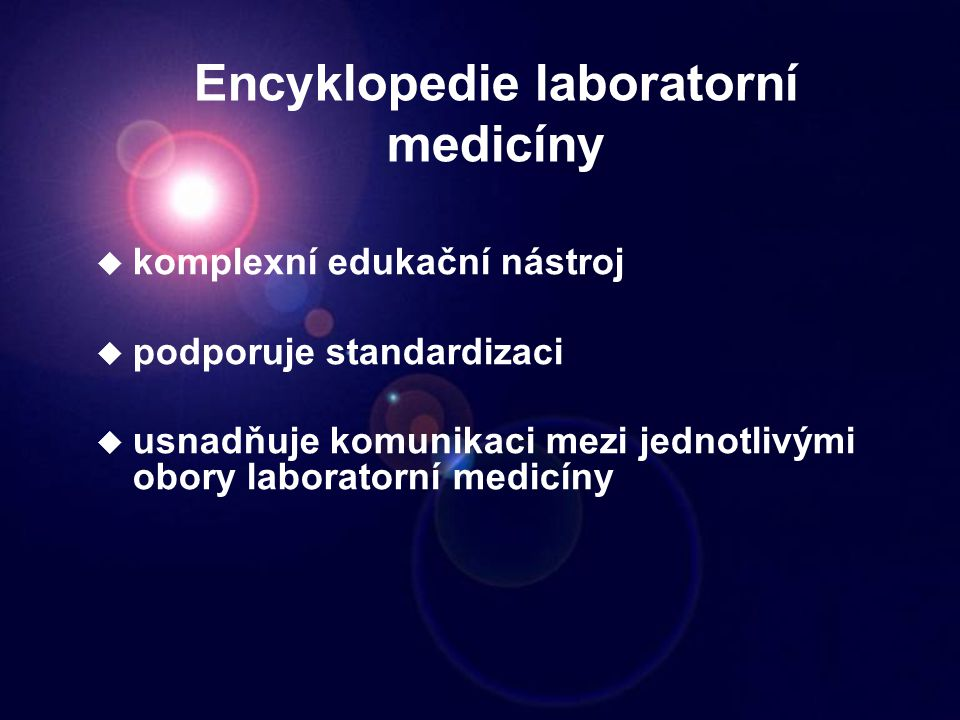 Encyklopedie laboratorní medicíny
