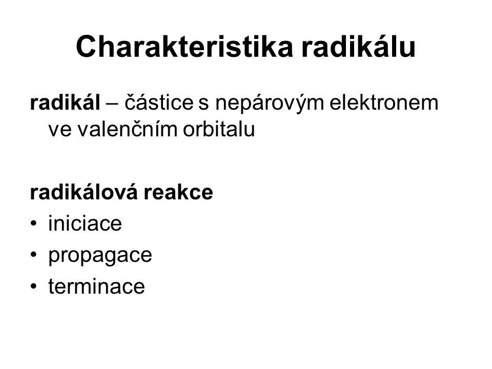 Charakteristika radikálu