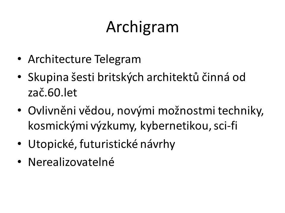 Archigram Architecture Telegram