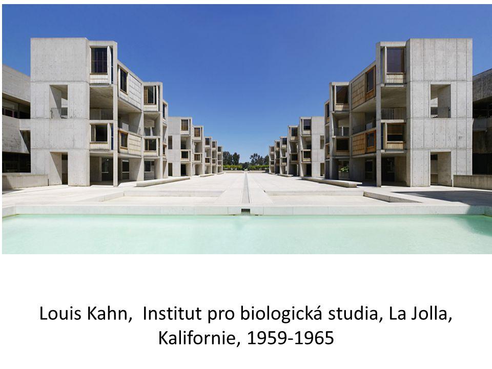 Louis Kahn, Institut pro biologická studia, La Jolla, Kalifornie, 1959-1965