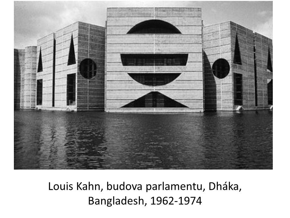 Louis Kahn, budova parlamentu, Dháka, Bangladesh, 1962-1974