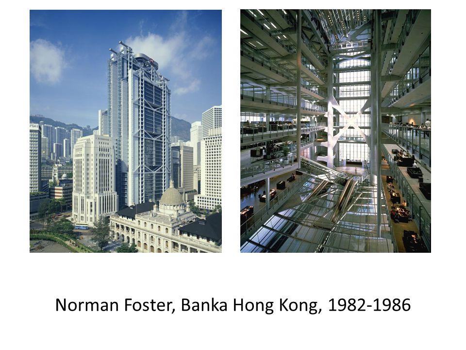 Norman Foster, Banka Hong Kong, 1982-1986