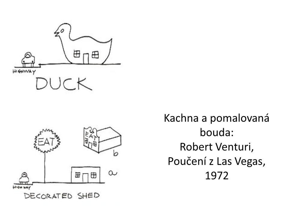 Kachna a pomalovaná bouda: Robert Venturi, Poučení z Las Vegas, 1972
