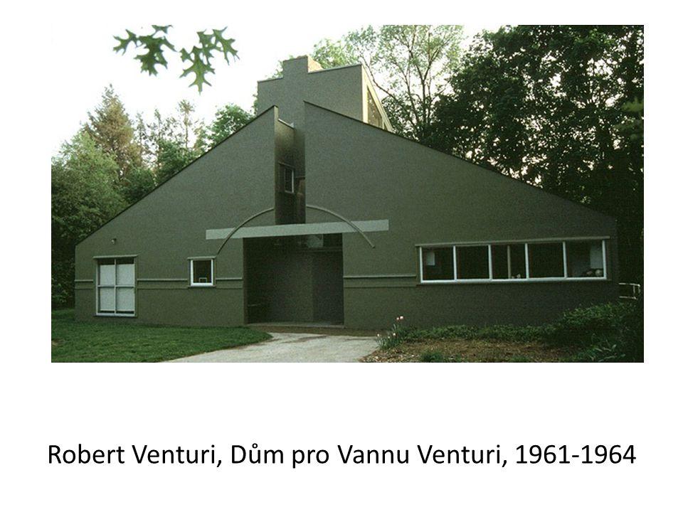 Robert Venturi, Dům pro Vannu Venturi, 1961-1964