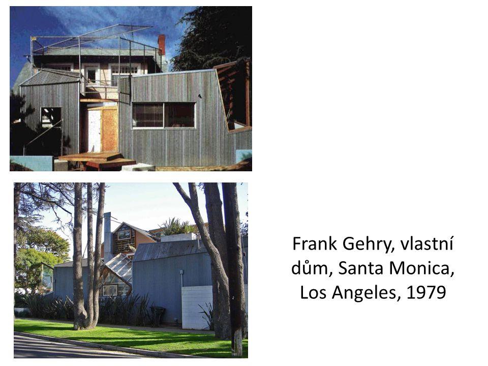 Frank Gehry, vlastní dům, Santa Monica, Los Angeles, 1979