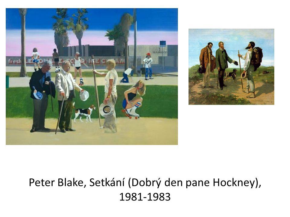 Peter Blake, Setkání (Dobrý den pane Hockney), 1981-1983