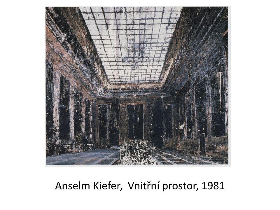 Anselm Kiefer, Vnitřní prostor, 1981