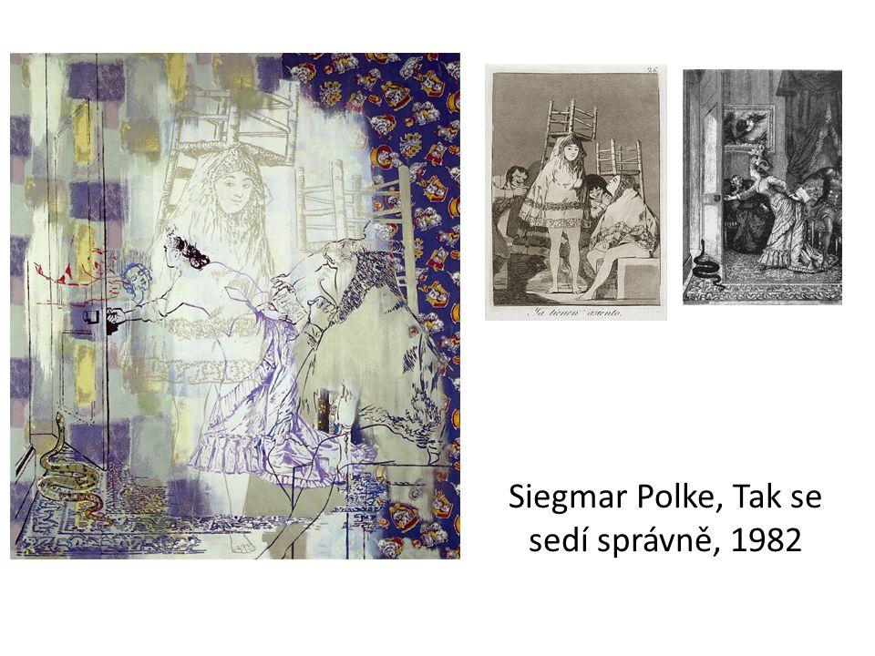 Siegmar Polke, Tak se sedí správně, 1982