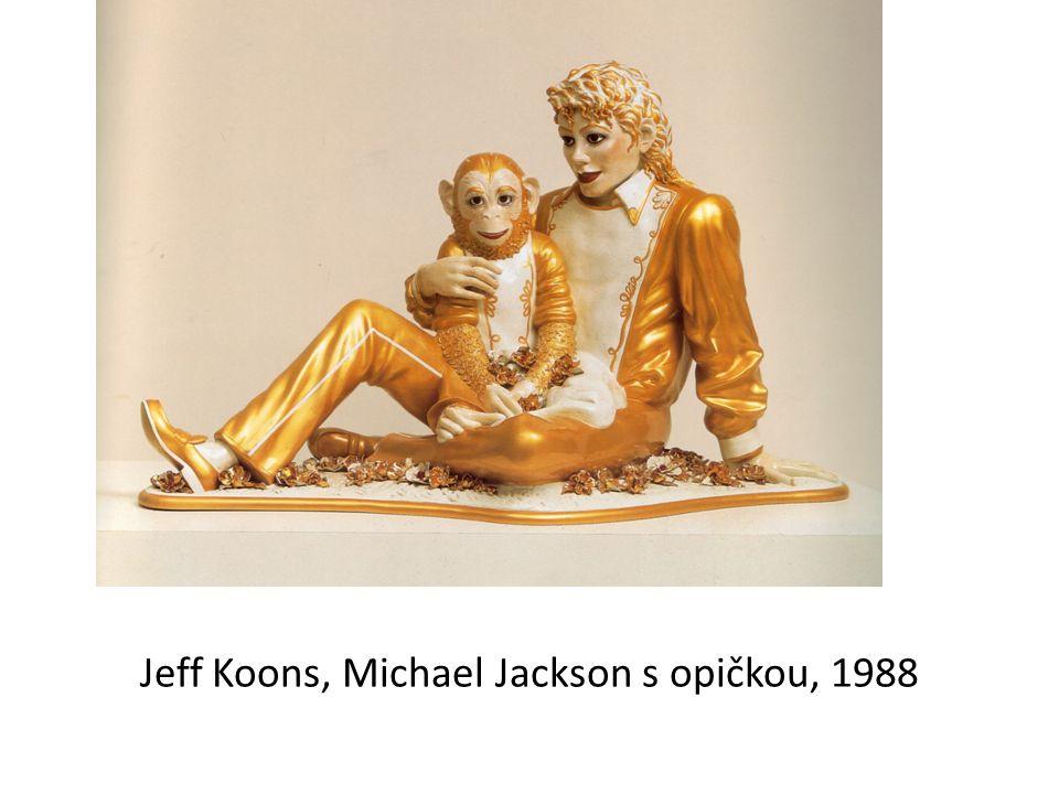 Jeff Koons, Michael Jackson s opičkou, 1988
