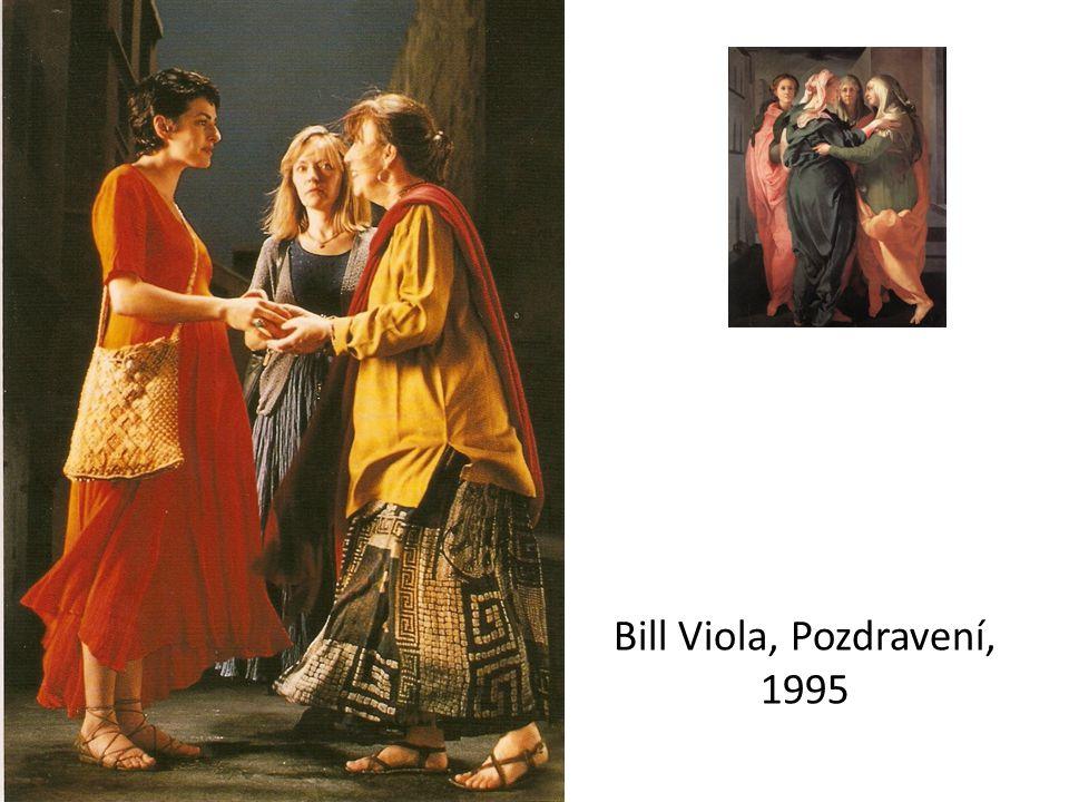 Bill Viola, Pozdravení, 1995