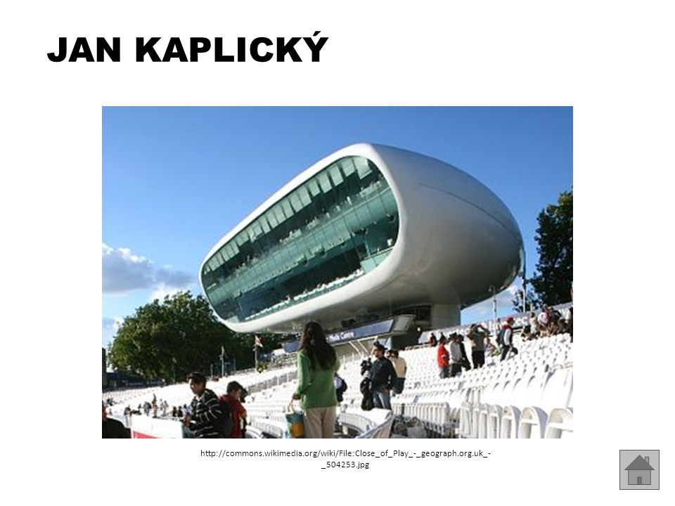 Jan Kaplický http://commons.wikimedia.org/wiki/File:Close_of_Play_-_geograph.org.uk_-_504253.jpg