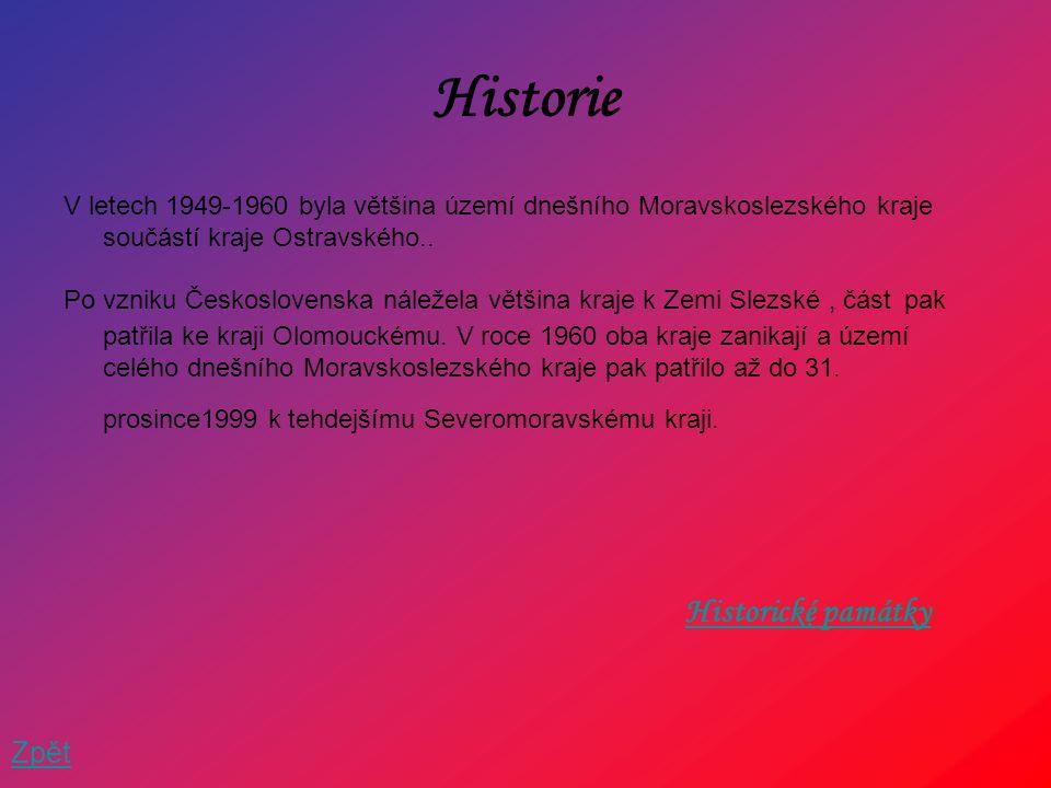 Historie Historické památky Zpět