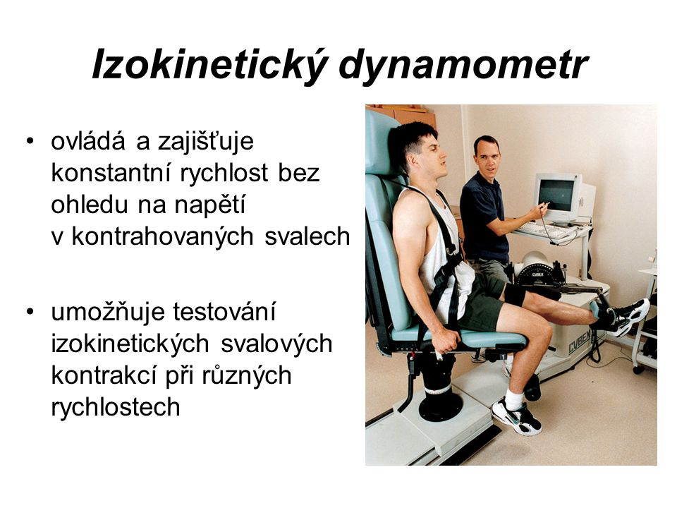 Izokinetický dynamometr