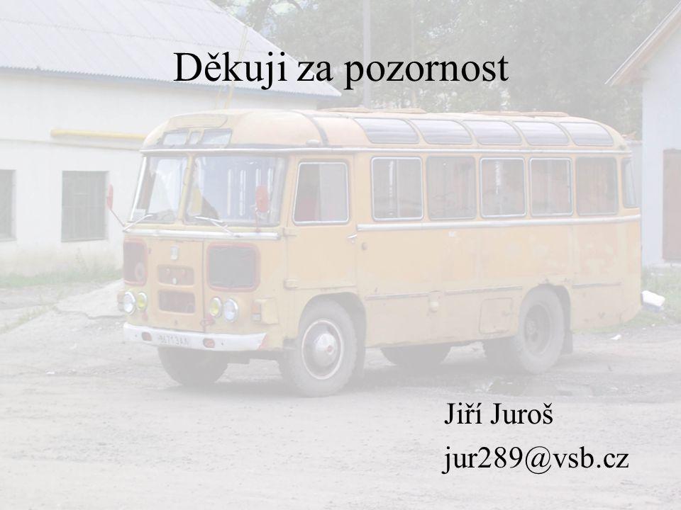Děkuji za pozornost Jiří Juroš jur289@vsb.cz