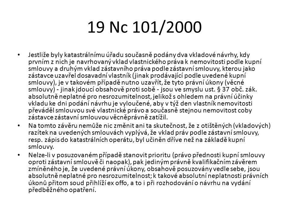 19 Nc 101/2000