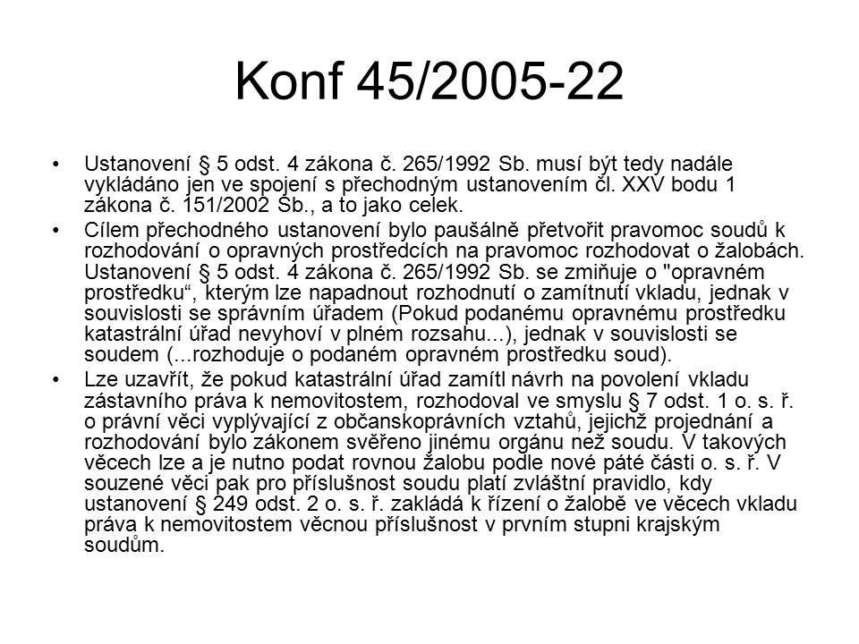 Konf 45/2005-22