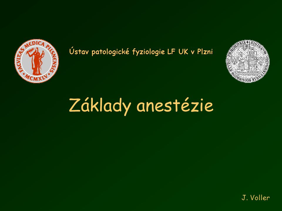Ústav patologické fyziologie LF UK v Plzni