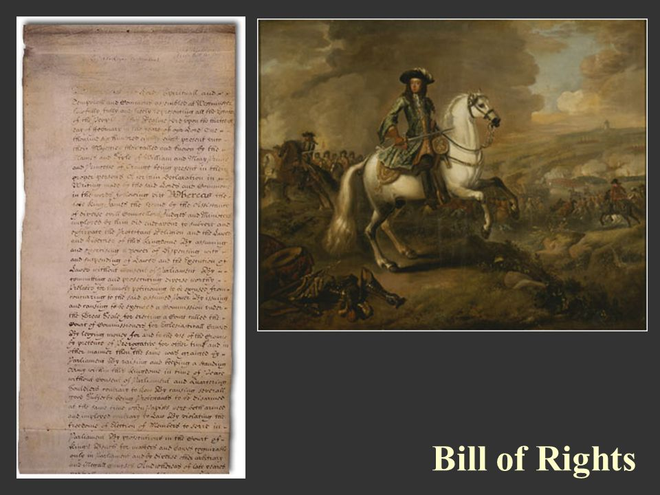 Bill of Rights Bill of Rights