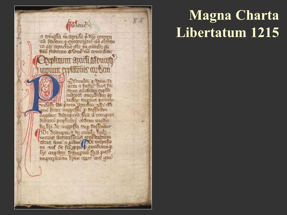 Magna Charta Libertatum 1215