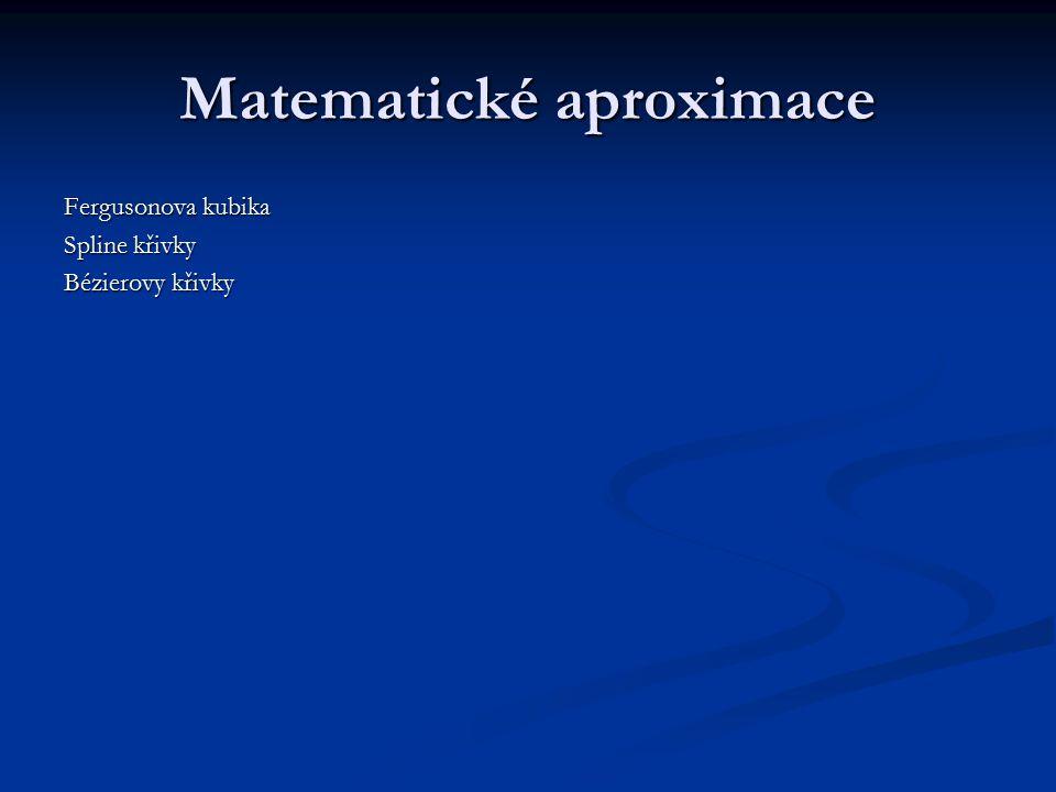 Matematické aproximace