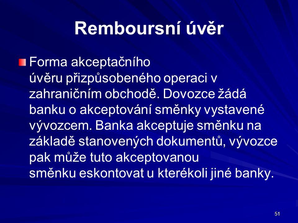 Remboursní úvěr