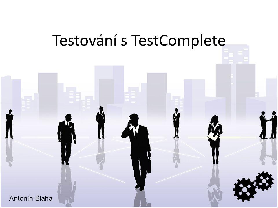 Testování s TestComplete