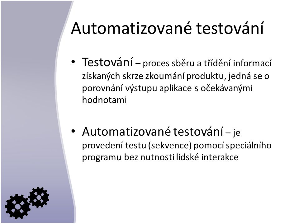 Automatizované testování