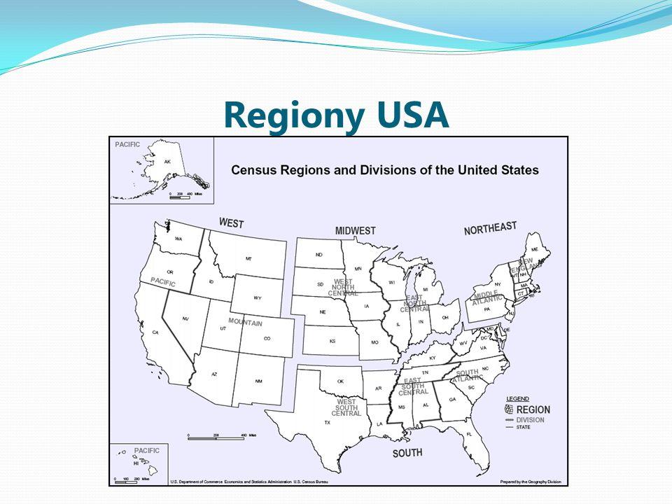 Regiony USA