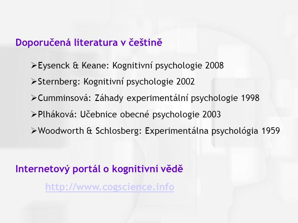 Doporučená literatura v češtině