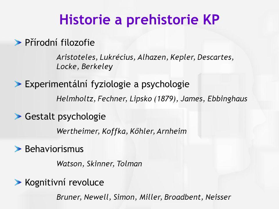 Historie a prehistorie KP
