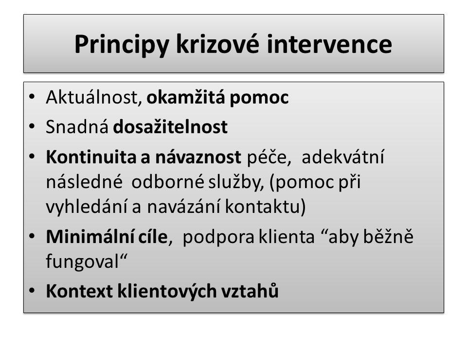 Principy krizové intervence